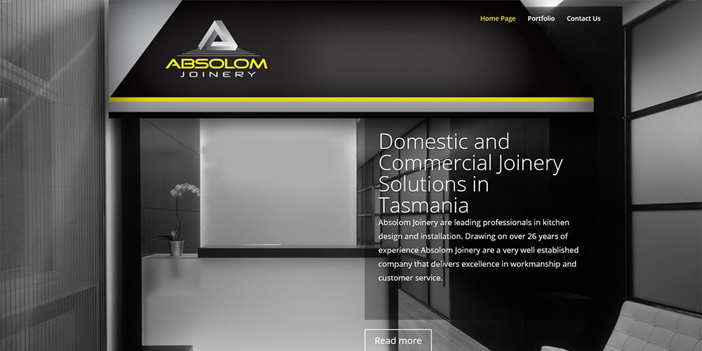 Webdesign Launceston Absolom Joinery