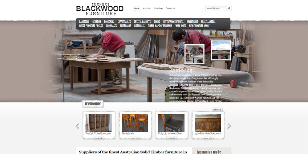 Turners Blackwood Funiture