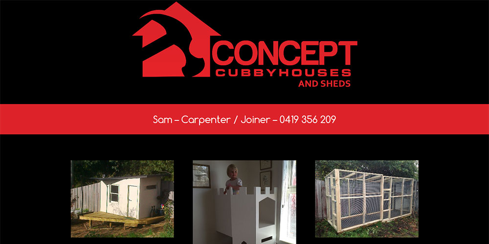 Concept Cubby Houses