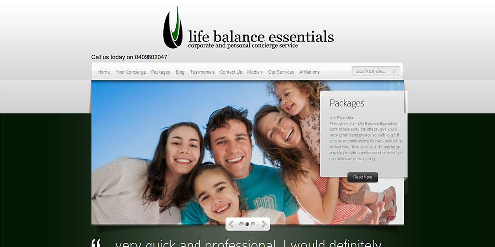 Life Balance Essentials