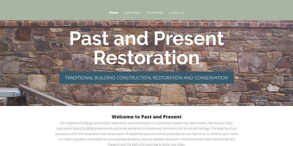 Past and Present Restoration
