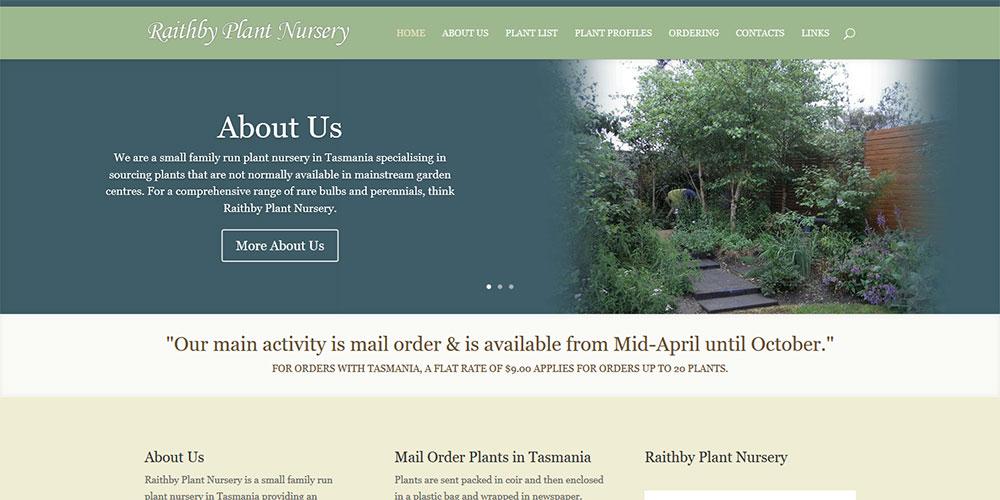 Raithby Plant