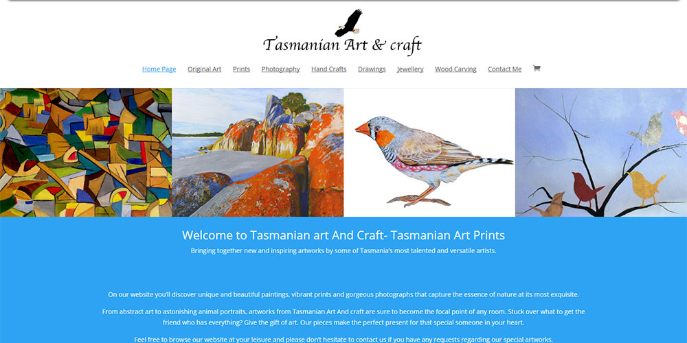 Tasmanian Art Craft