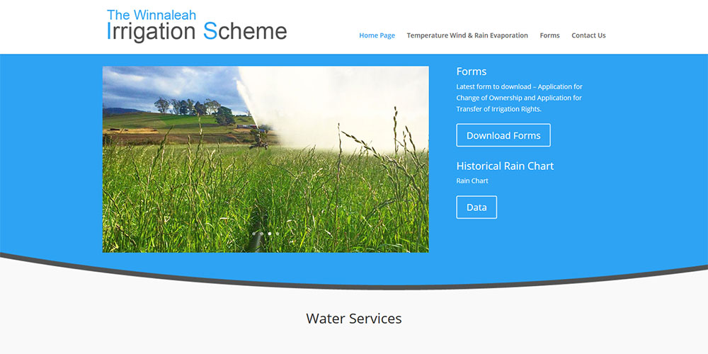 Winnaleah Irrigation Scheme